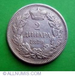 Imaginea #1 a 2 Dinara 1879