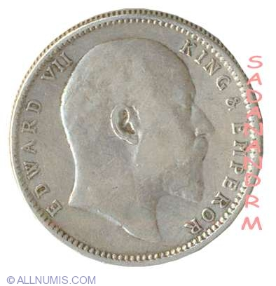 1 Rupee 1906, British India - Edward VII (1901-1910) - India