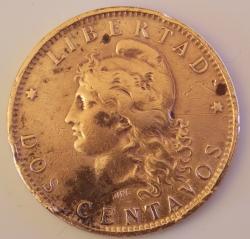 Image #1 of 2 Centavos 1884