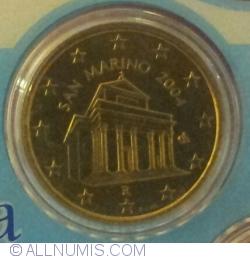 Image #2 of 10 Euro cenț 2004