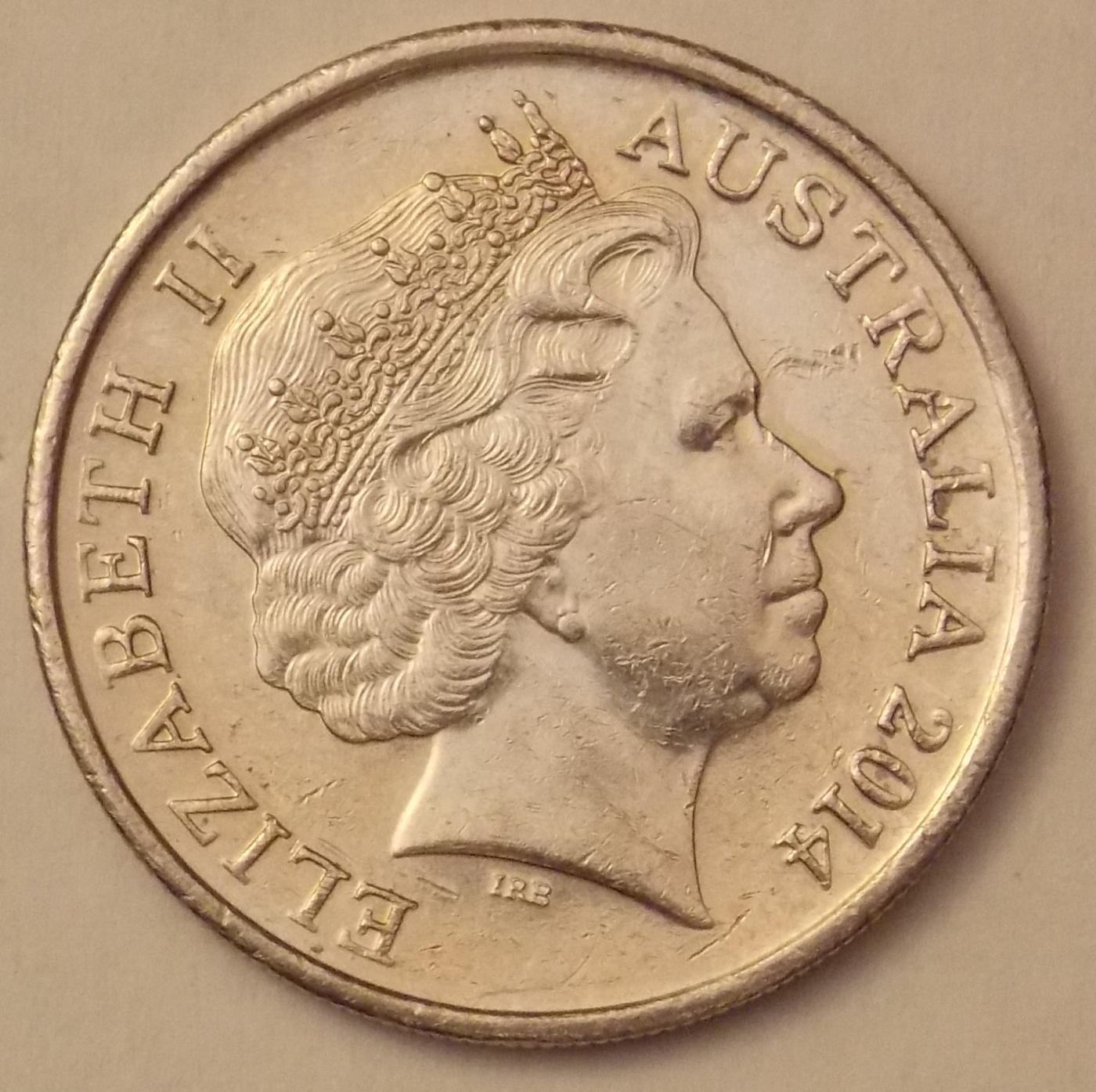 10 Cents 2014 Elizabeth Ii 1952 Present Australia