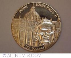 Image #1 of 10 Dollars 2005 - Pope John Paul II