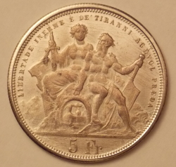 5 Francs 1883 [COUNTERFEIT]