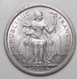 Image #2 of 1 Franc 1971