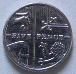 5 Pence 2015