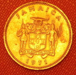Image #2 of 1 Cent 1971 FAO