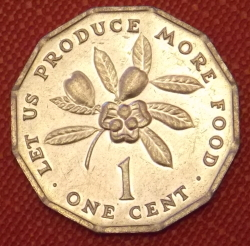 Image #1 of 1 Cent 1983 FAO