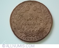 Image #1 of 5 Centimes 1876 A