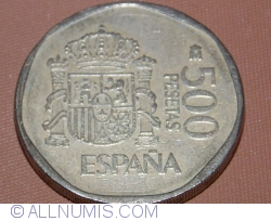Image #1 of 500 Pesetas 1990