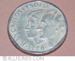 Image #2 of 500 Pesetas 1990