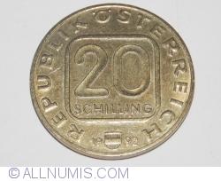 Image #1 of 20 Schilling 1992 - Burg Hochosterwitz