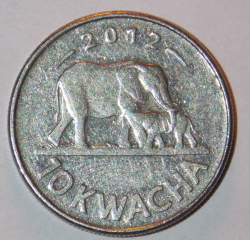Imaginea #1 a 10 Kwacha 2012