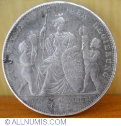 Image #1 of 1 Gulden 1841 - 25th Anniversary of Reign