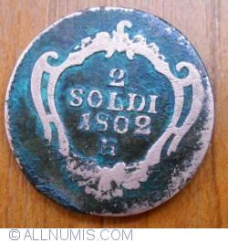 Image #1 of 2 Soldi 1802 H