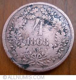 Imaginea #1 a 4 Krajczar 1868