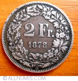 Image #1 of 2 Francs 1878
