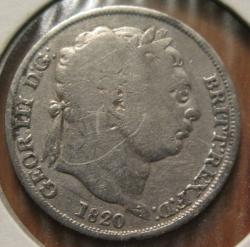 Sixpence 1820
