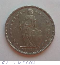 Image #2 of 2 Francs 1975