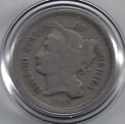 Three Cent Piece 1866