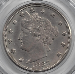 Image #1 of Liberty Head Nickel 1883