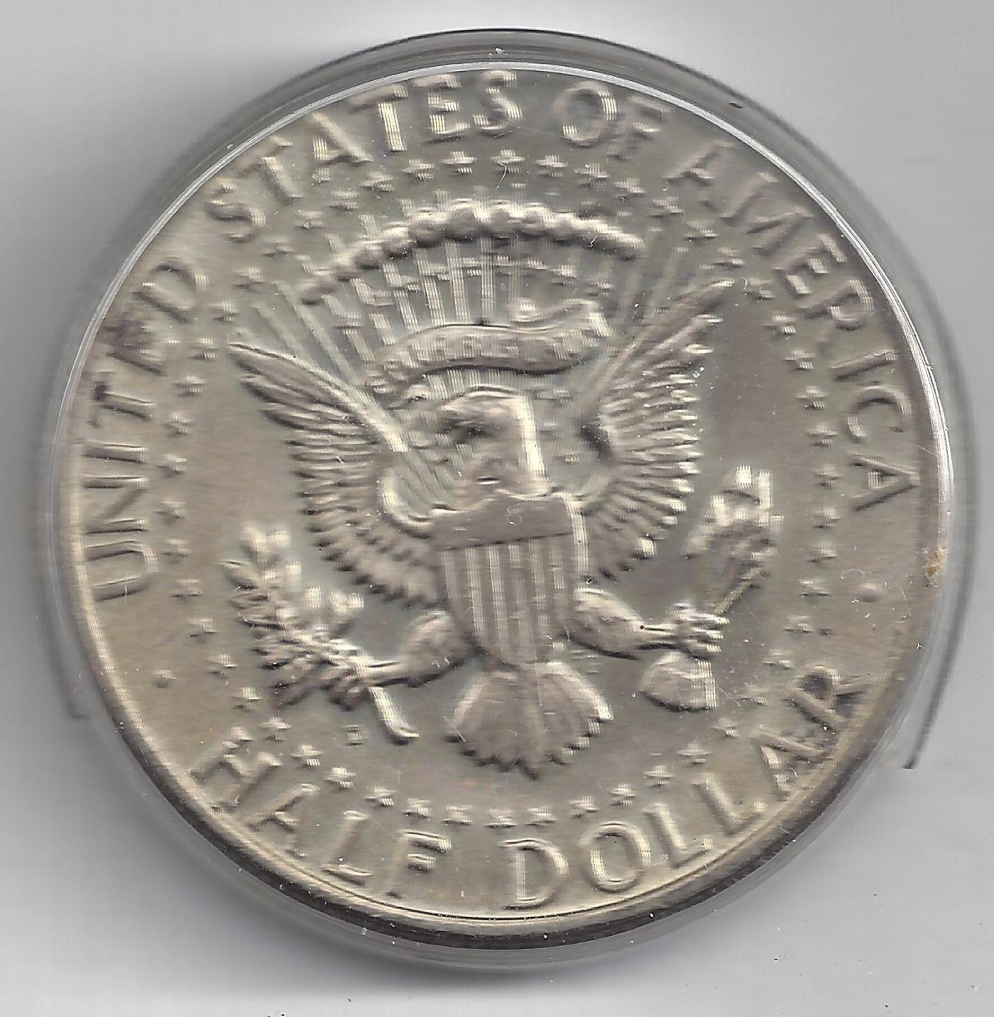 Half Dollar 1964 D, Half Dollar, Kennedy (1964-present