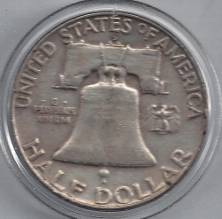Image #2 of Half Dollar 1958 D
