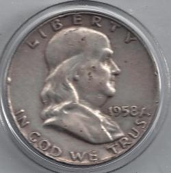 Image #1 of Half Dollar 1958 D