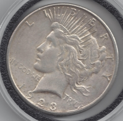 Image #1 of Peace Dollar 1923 S