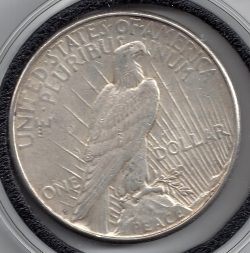 Image #2 of Peace Dollar 1923 S