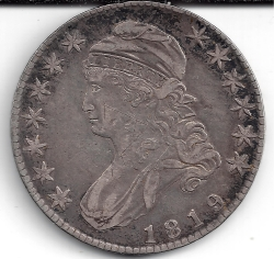 Image #1 of Capped Bust Half Dollar 1819