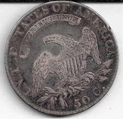 Image #2 of Capped Bust Half Dollar 1819