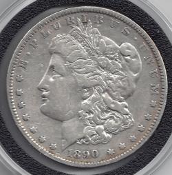 Morgan Dollar 1890 O