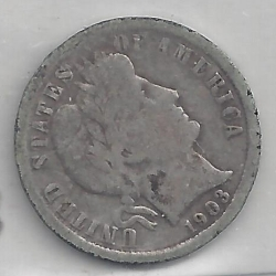 Image #1 of Barber Dime 1903