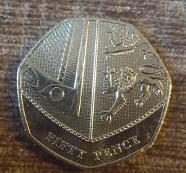 Image #1 of 50 Pence 2019