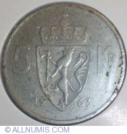 Image #1 of 5 Kroner 1963