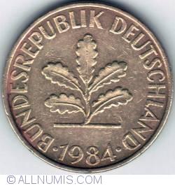 Image #2 of 10 Pfennig 1984 J