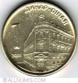 Imaginea #1 a 1 Dinar 2005 - nemagnetica