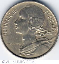 Image #2 of 10 Centimes 1968