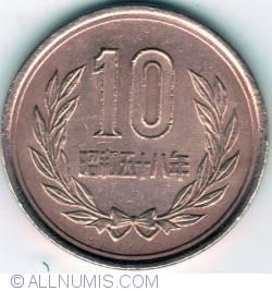 Image #1 of 10 Yen 1983 (year 58)