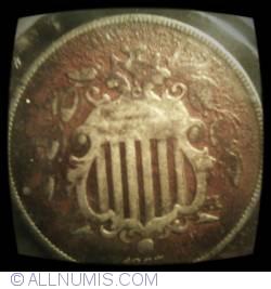 Image #2 of Shield Nickel 1867