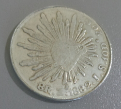 Image #2 of 8 Reales 1882 Zs