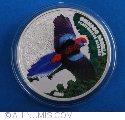 Image #2 of 5 Dollars 2014 - World Parrots - Crimson Rosella 3D