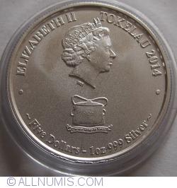Image #1 of 5 Dollars 2014 Kakahi - Yellowfin Tuna