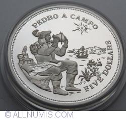 Imaginea #2 a 5 Dollars 1994 - Pedro A Campo
