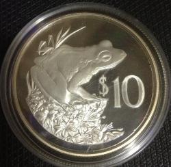 Image #2 of 10 Dollars 1986 - 25th Anniversary of World Wildlife Fund