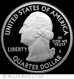 Image #1 of Quarter Dollar 2009 S- District of Columbia  Silver Proof