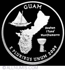 Image #2 of Quarter Dollar 2009 S - Guam  Silver Proof