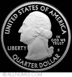 Image #1 of Quarter Dollar 2009 S - Guam  Silver Proof