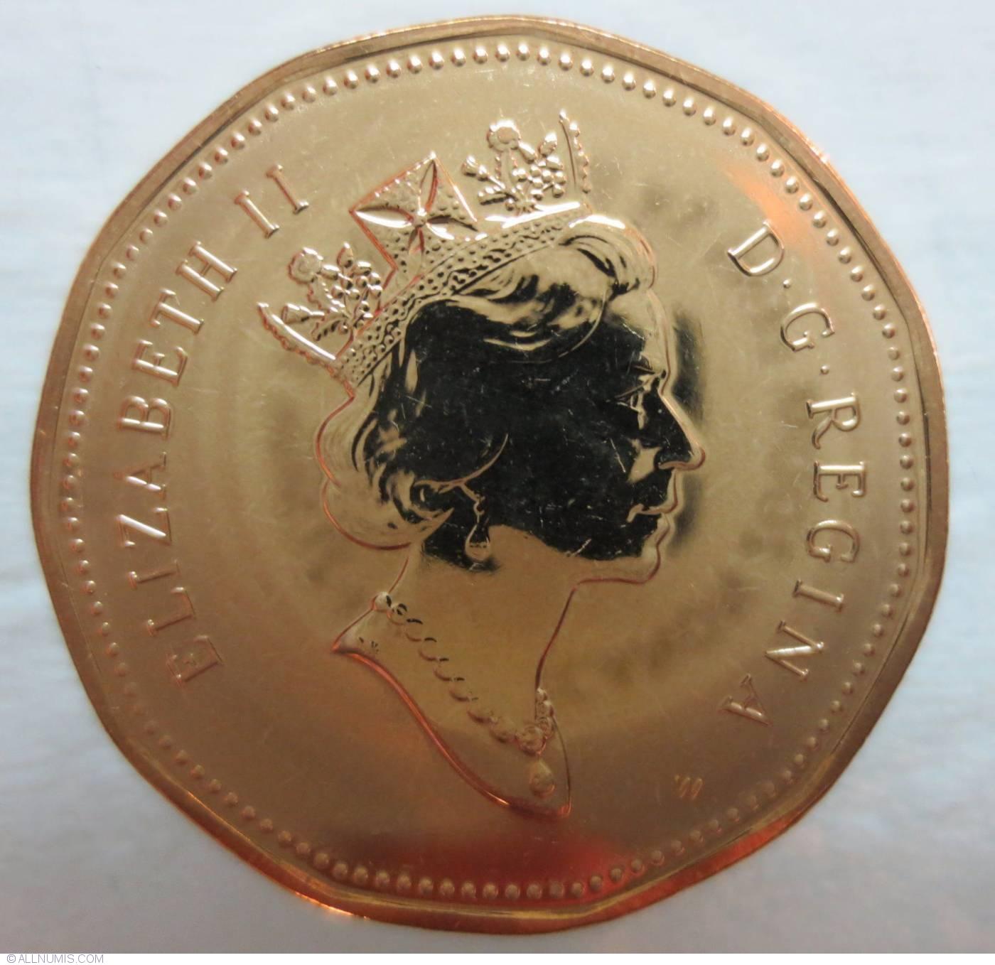 1 Dollar 2000 W Elizabeth Ii 1953 Present Canada