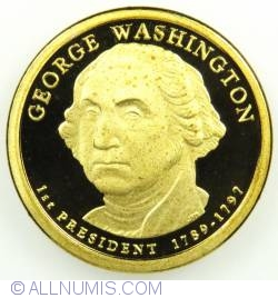 Imaginea #1 a 1 Dollar 2007 S - George Washington  Proof